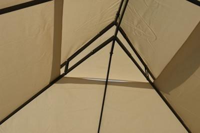 ersatzdach gro f r dema pavillon gartenpavillon metall 3x4m. Black Bedroom Furniture Sets. Home Design Ideas