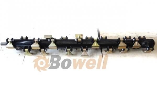 Fabelhaft Bowell 135cm EFGC/H Mulcher Schlegelwelle Rotorwelle Mulcherwelle &VN_65